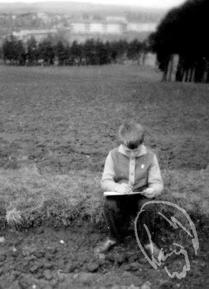 v Borovině rok 1957